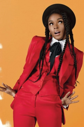 JANELLE MONAE - FAST COMPANY COVER