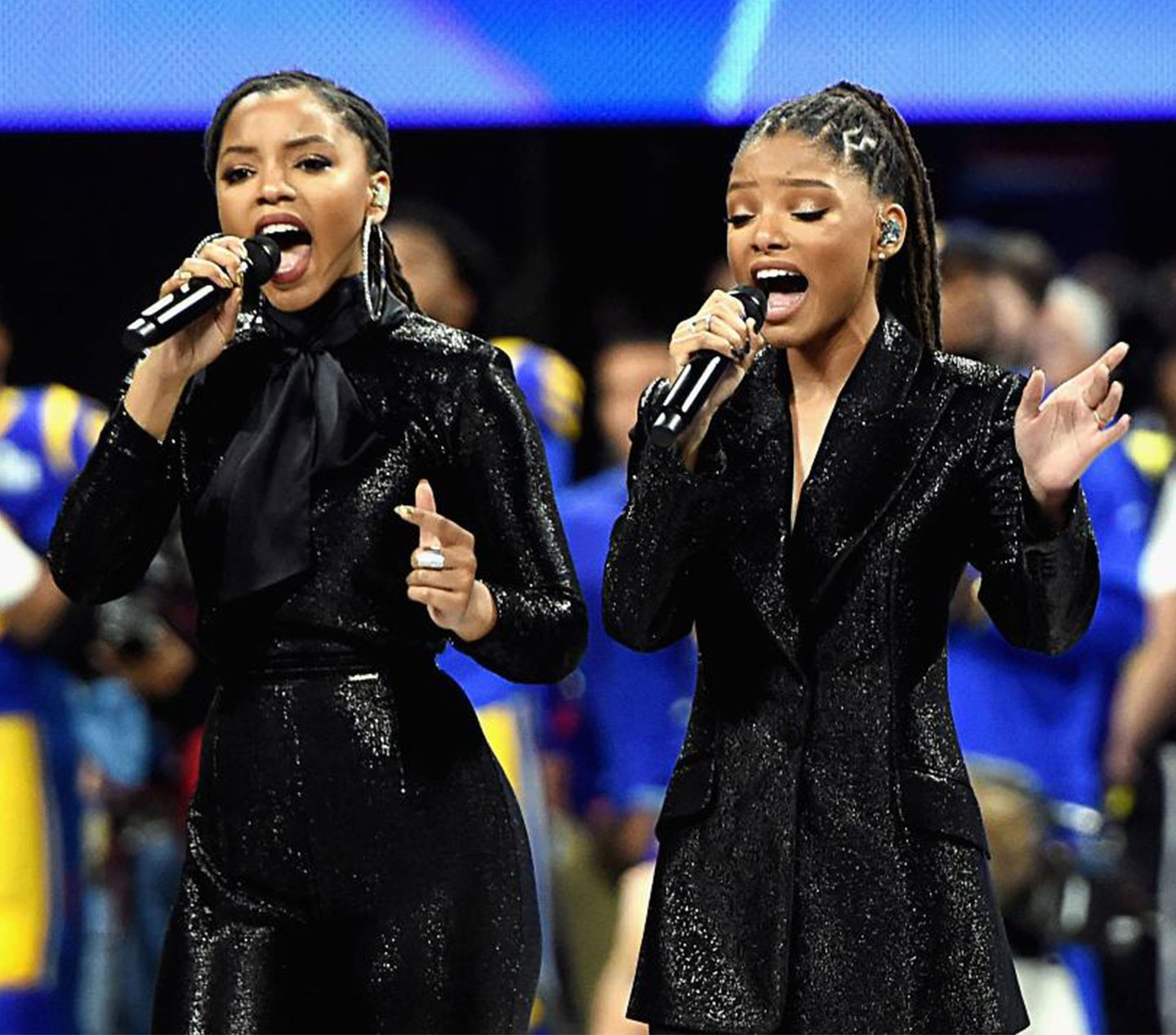 CHLOE & HALLE - Super Bowl LIII NFL Pregame Performance