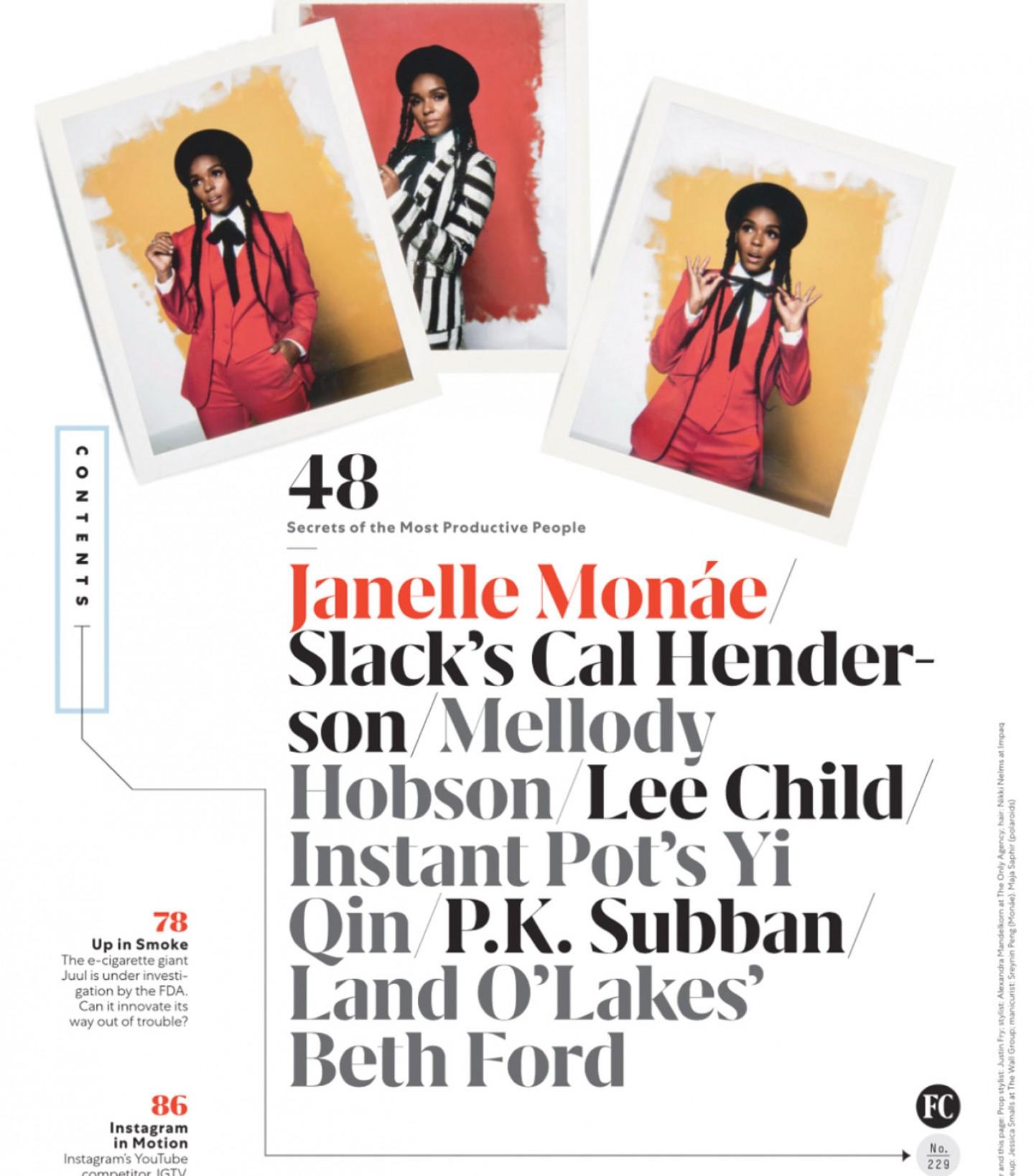 JANELLE MONAE - Cover