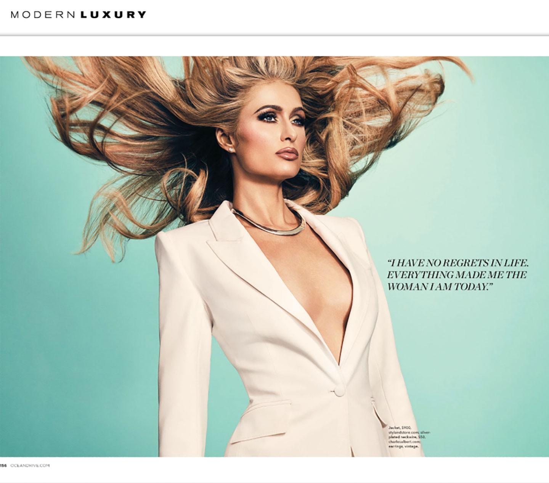Modern luxury paris hilton blog styland for Lg store paris
