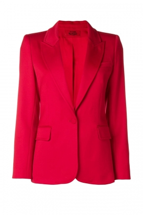 PREMIUM WOOL BLAZER WITH PEAK LAPELS