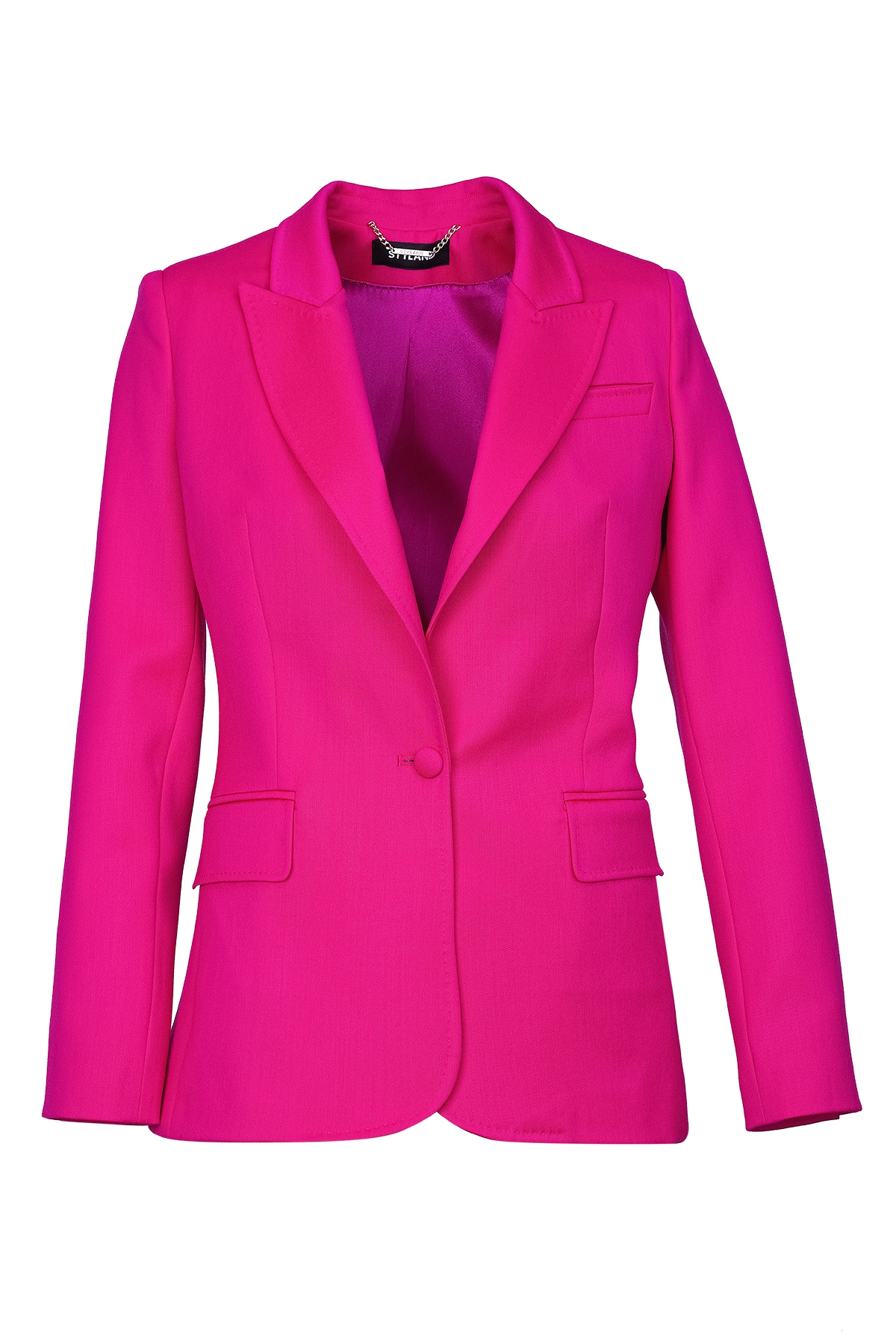 HOT PINK TAILORED JACKET