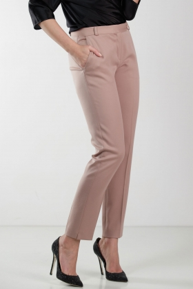 PREMIUM WOOL NUDE PANTS