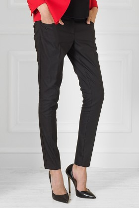 PANTALONI NEGRI SLIM FIT