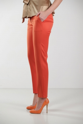 ORANGE PREMIUM WOOL PANTS