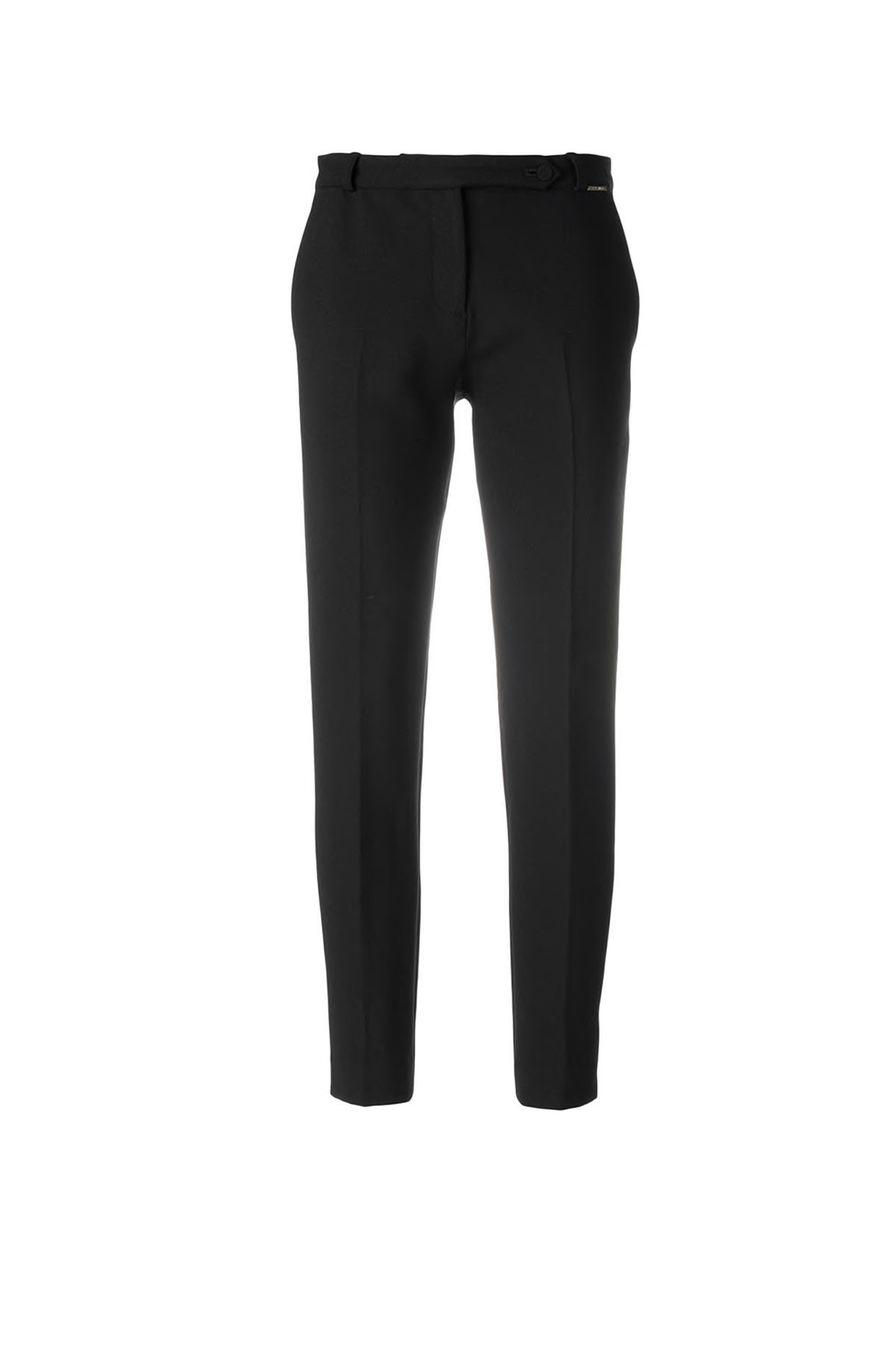 BLACK PANTS WITH SIDE STRIPE