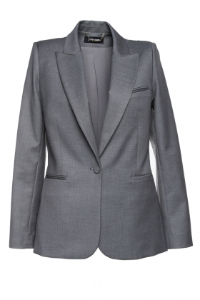 BLAZER WITH DOUBLE VENTS AND SINGLE BUTTON