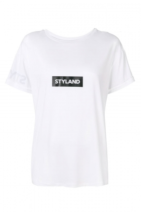 WHITE BOYFRIEND T-SHIRT