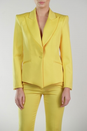 YELLOW STATEMENT JACKET