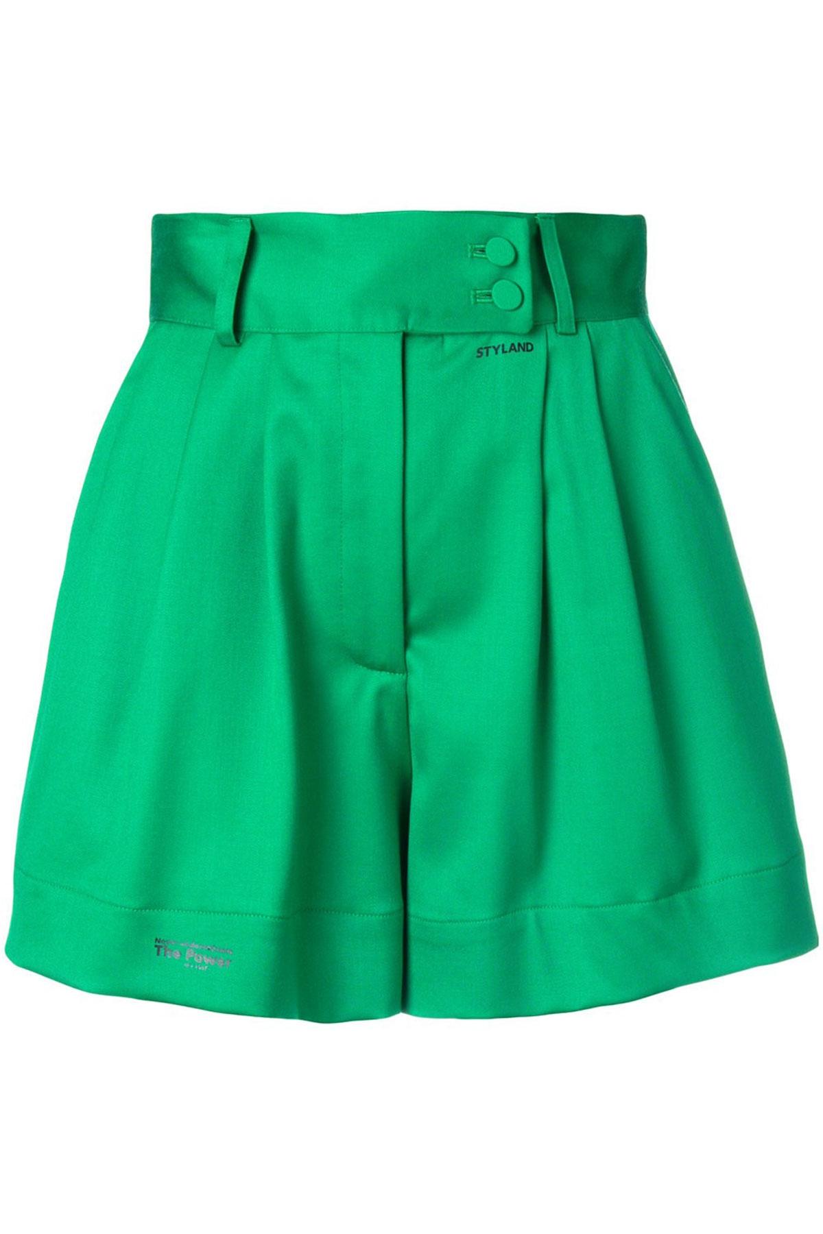 GREEN SHORT PANTS