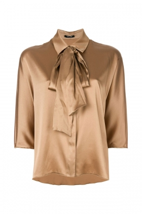 TABACCO SILK SHIRT