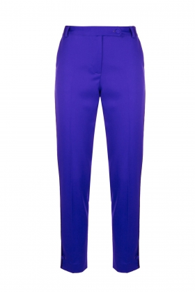 PURPLE PREMIUM WOOL PANTS