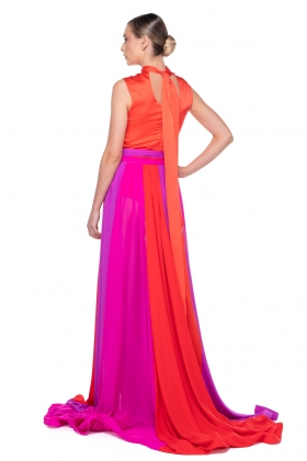 MULTICOLOR LONG SKIRT