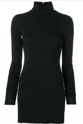 BLACK LONG SLEEVES TURTLENECK