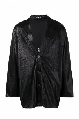 METALLIC BUTTONED JACKET