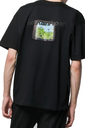 notRainProof BLACK T-SHIRT