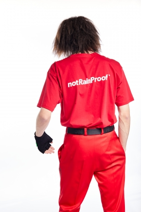 notRainProof RED T-SHIRT