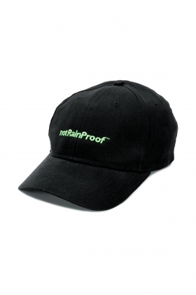 BLACK notRainProof CAP