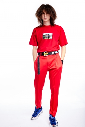 notRainProof RED TROUSERS