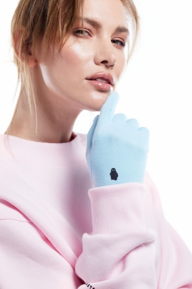 PARAIBA BLUE GLOVES SUSTAINABLE JERSEY