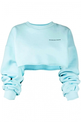 notRainProof ORGANIC COTTON CROPPED JUMPER