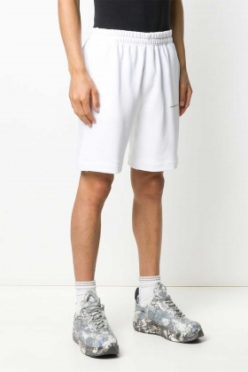 WHITE notRainProof SHORT PANTS