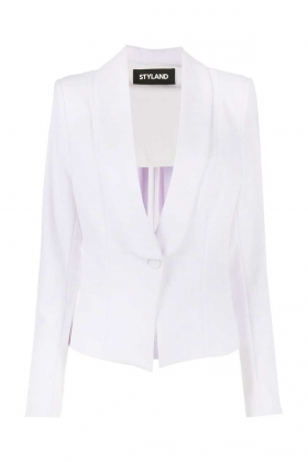 WHITE COTTON JACKET