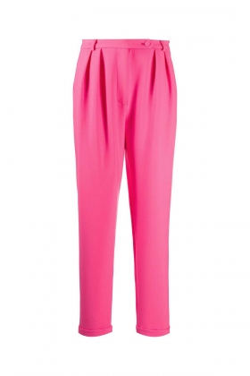 PINK TAILORED TROUSERS