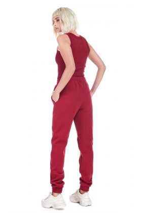 RIO RED TRACK PANTS ( unisex item )