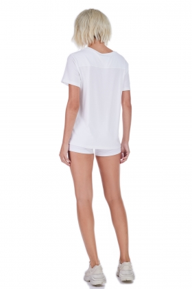PLAIN LIGHTWEIGHT JERSEY T-SHIRT